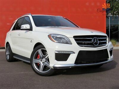 2012 Mercedes-Benz M-Class ML 63 AMG 4MATIC P30 Performance Pack 2012 Mercedes-Benz ML63 AMG 4Matic, P30 Pack, Designo Porcelain Leather, LOADED!