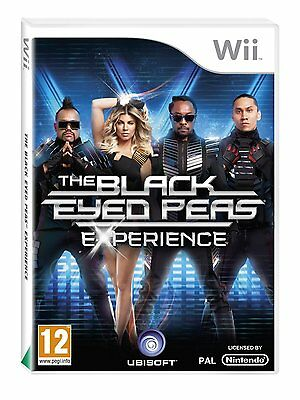 Nintendo Wii Game We Sing the Black Eyed Peas Experience New