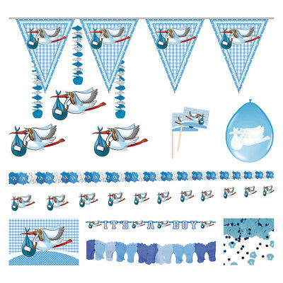 Baby Boy Birth Celebration Partyware Package