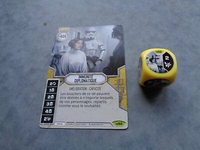 Star Wars Destiny Rare Immunite Diplomatique Vf