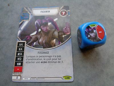 Star Wars Destiny Rare Padawan Vf