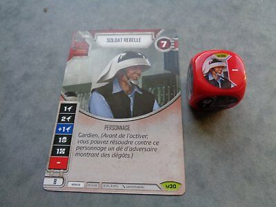 Star Wars Destiny Rare Soldat Rebelle Vf