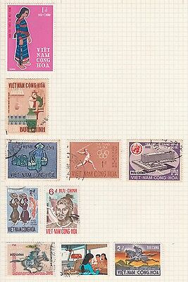 SOUTH VIETNAM COLLECTION Olympics, Buu Chinh, Quang-Trung, etc removed to send #