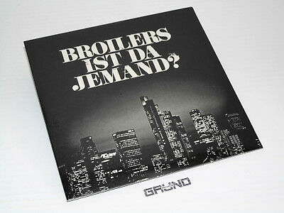 "7"" Single: Broilers - Ist da Jemand, Limited Edition of 3000, NEU & OVP (24.95)"