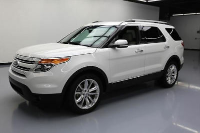 2015 Ford Explorer Limited Sport Utility 4-Door 2015 FORD EXPLORER LIMITED 7-PASS SUNROOF NAV 20'S 49K #A53844 Texas Direct Auto