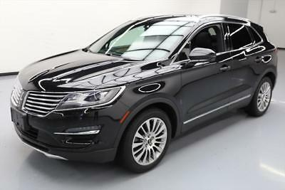2015 Lincoln MKC Base Sport Utility 4-Door 2015 LINCOLN MKC 2.0 ECOBOOST LEATHER PANO ROOF NAV 36K #J27545 Texas Direct
