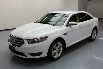 2016 Ford Taurus SEL Sedan 4-Door 2016 FORD TAURUS SEL HEATED LEATHER REARVIEW CAM 13K MI #138944 Texas Direct