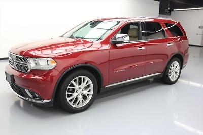 2014 Dodge Durango Citadel Sport Utility 4-Door 2014 DODGE DURANGO CITADEL 7-PASS SUNROOF NAV 20'S 60K #530897 Texas Direct Auto