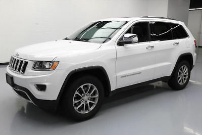 2014 Jeep Grand Cherokee Limited Sport Utility 4-Door 2014 JEEP GRAND CHEROKEE LTD SUNROOF NAV REAR CAM 72K #191425 Texas Direct Auto