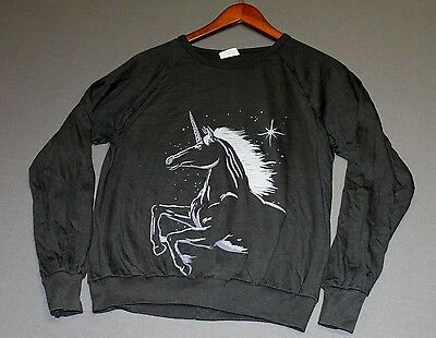 Lot of 5 Small * NOS vtg 80s longsleeve UNICORN t shirt * UN1