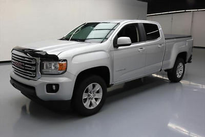 2015 GMC Canyon SLE Crew Cab Pickup 4-Door 2015 GMC CANYON SLE CREW REAR CAM TONNEAU COVER TOW 50K #231281 Texas Direct