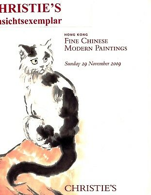 FINE CHINESE MODERN PAINTINGS:  Christie's  HK 09 +results