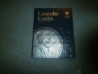 Lincoln Penny Collection In Album, 1941 On