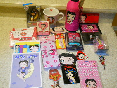Lot of 19 pcs. misc. Betty Boop items as shown in photos