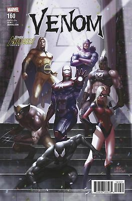 Venom #160 Lee Avengers Variant Near Mint First Print Bagged And Boarded