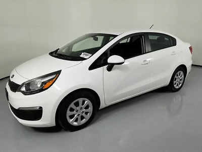 2017 Kia Rio  2017 KIA RIO LX 4DR SEDAN AUTOMATIC BLUETOOTH 11K MILES #117176 Texas Direct