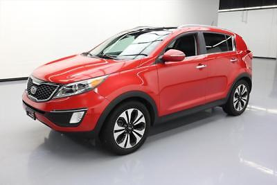 2012 Kia Sportage SX Sport Utility 4-Door 2012 KIA SPORTAGE SX REAR CAM DUAL PANO LEATHER 83K MI #305659 Texas Direct Auto