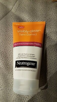 ♥♥Neutrogena visibly clear Peeling♥ neu 150 ml