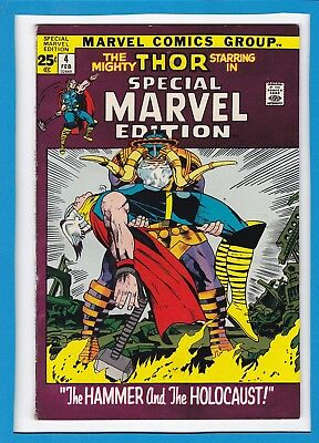 Special Marvel Edition #4_February 1972_Vf_The Mighty Thor_Bronze Age Marvel!