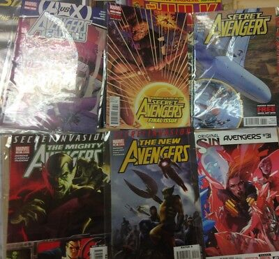 50 AVENGERS MARVEL Modern Age American Comics. New condition & Bagged. FREE POST