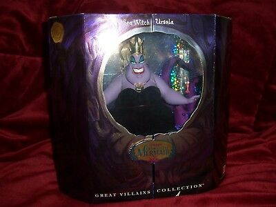 Disney The Little Mermaid Sea Witch Ursula Doll Great Villains Collection