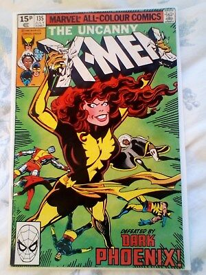 Uncanny X-Men 135 (1980) Byrne art, 1st full app of Dark Phoenix