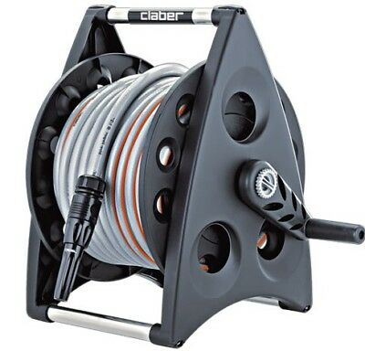 Claber Kiros Hose Reel Kit with 30m Hose