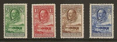 BCW BECHUANALAND 1932 SG 99 to 102 King George V part set mint hinged