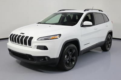 2016 Jeep Cherokee  2016 JEEP CHEROKEE LATITUDE ALTITUDE 4X4 REAR CAM 27K #162713 Texas Direct Auto
