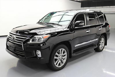 2015 Lexus LX  2015 LEXUS LX570 AWD LUX 7-PASS SUNROOF NAV DVD 32K MI #167806 Texas Direct Auto