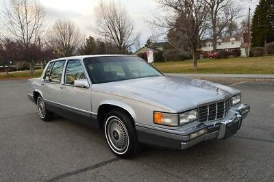 "1992 Cadillac DeVille Base Sedan 4-Door BEAUTIFUL ONE ""LITTLE OLD LADY"" OWNER SINCE NEW 103K ACTUAL MILES"