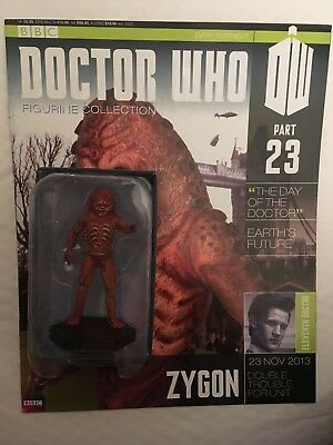Bbc Series Doctor Who Dr Issue 23 Zygon Eaglemoss Figurine + Magazine