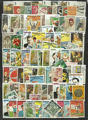 FRENCH COLONIES STAMP COLLECTION PACKET 100 DIFFERENT Mostly Used NICE SELECTION