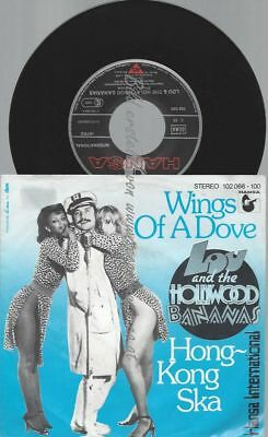 "7""  Lou And The Hollywood Bananas ‎– Wings Of A Dove"