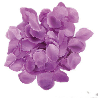 Lilac Rose Petal Fabric Table Confetti  Wedding/party Decoration