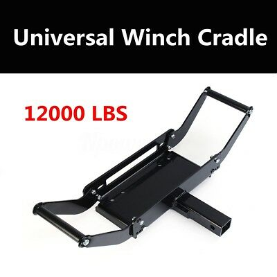 For trucks, ATV, 4x4, trailers 4WD 12,000lbs Winch Cradle Mounting Plate Bracket