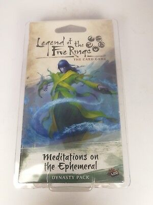 Legend of the Five Rings: Meditations on the Ephemeral - 60 cards - OVP