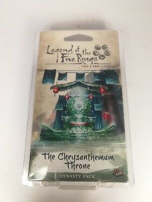Legend of the Five Rings: The Chrysanthemum Throne - Expension 60 cards - OVP