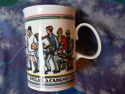 Dunoon Pottery Mug Dollar Academy Scotland 175Th Anniversary Mary Arneil