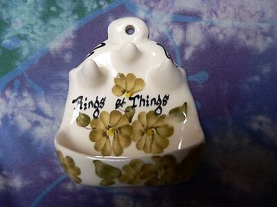 Toni Raymond Pottery Rings And Things Ringholder