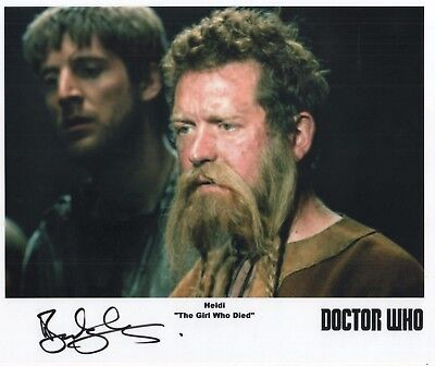 "Doctor Who Auto Photo Print Barnaby Kay ""Heidi"""