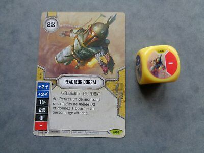Star Wars Destiny Rare Reacteur Dorsal Vf