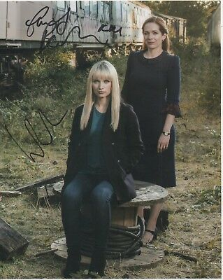 HUMANS DUAL Auto Photograph Katherine Parkinson & Emily Berrington
