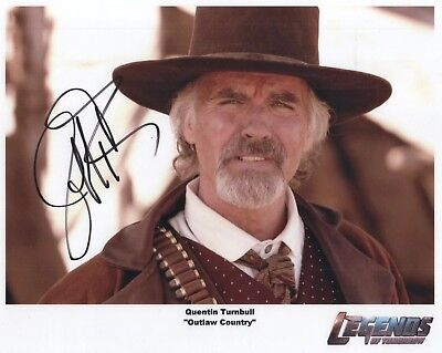 "DC's Legends of Tomorrow Auto Photo Print Jeff Fahey ""Quentin Turnbull"""