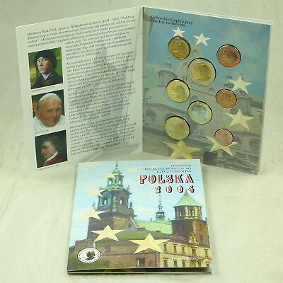 Polen Poland Trial Probe Münzen Kms Coins 1 Cent - 2 Euro 2004 Ina Folder
