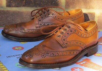 Loake Country Brogues. Made in England. Size UK 7.