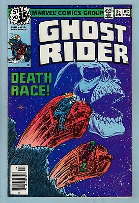 GHOST RIDER # 35 VFN (7.5/8.0)  DEATH RACE CLASSIC by STARLIN- HIGH GRADE- CENTS