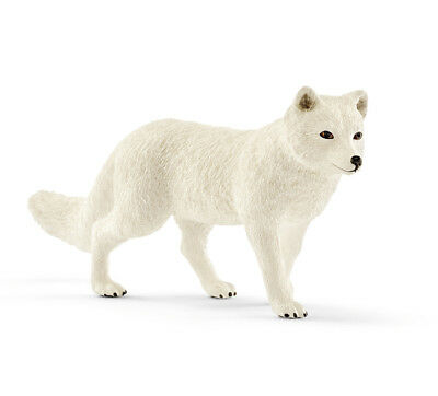 Schleich 14805 Arctic White Snow Fox Adult Wild Animal Toy Figurine 2018 - NIP