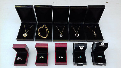 Collection Of 24 Grms Of 9Ct. Gold Hallmarked(Necklaces,rings & Earrings)To Wear