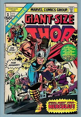 GIANT SIZE THOR # 1 FN (6.0)  GLOSSY MID GRADE US CENTS COPY - 99p START